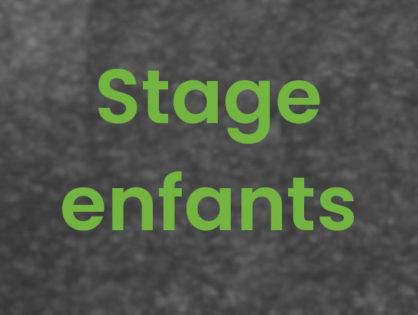 Stage Enfants #6